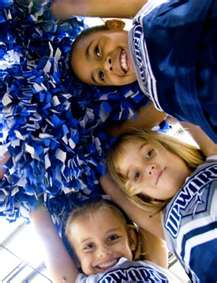 Cheerleaders Close Up